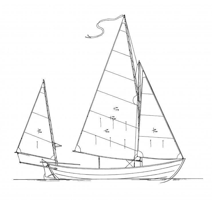 Caledonia yawl plans