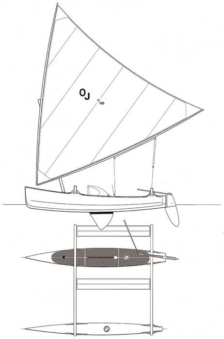 Outrigger Junior sailplan