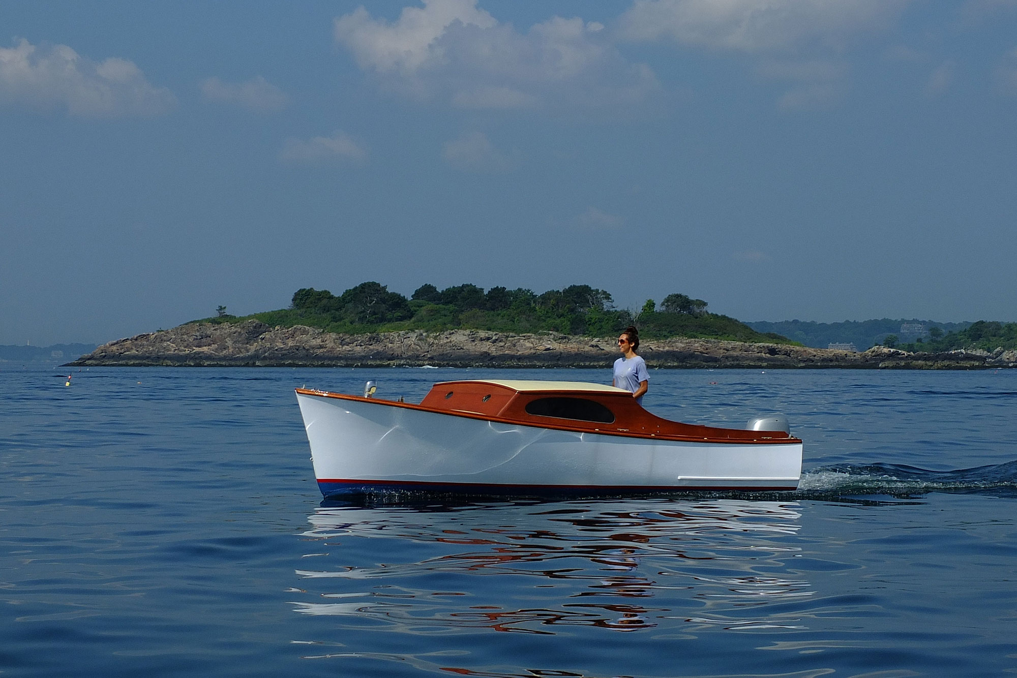 Suggestions please: Wooden inboard Trailerable 16-21ft Sedan/Cruisette Sports Boat