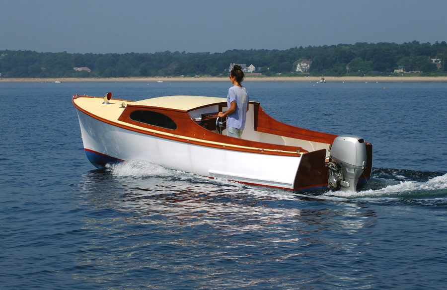 Sam Crocker's Small Outboard Skiff