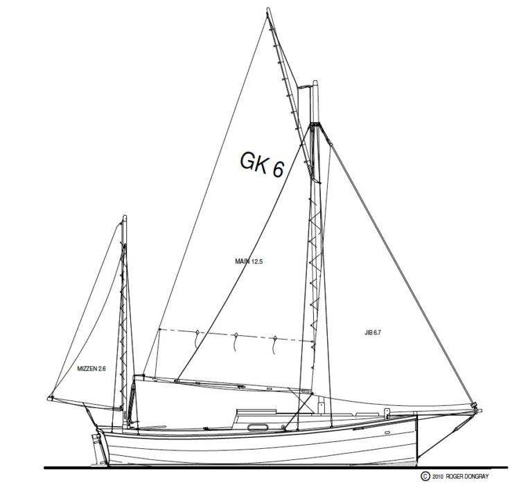 Golant Sail Plan