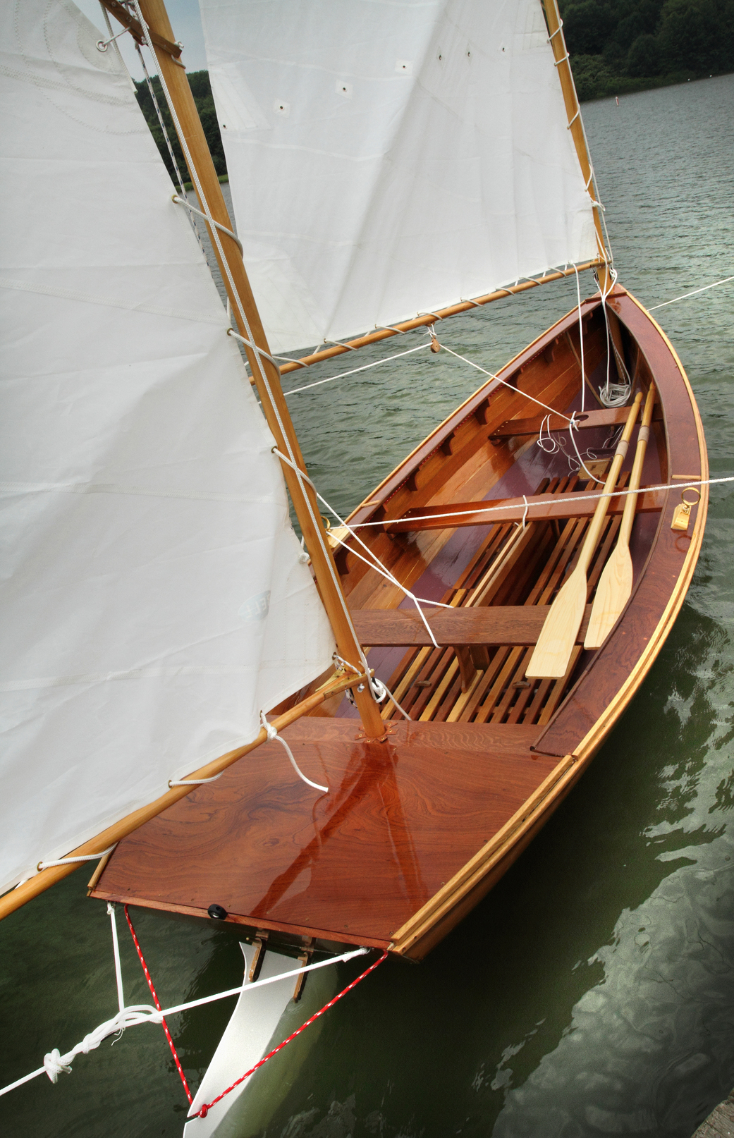 A Herreshoff Coquina - Small Boats Monthly