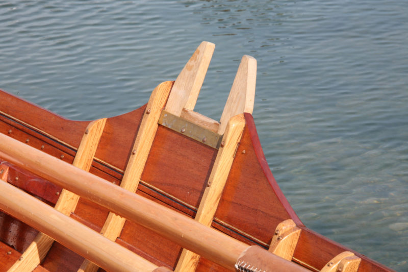The locks are incorporated into the saxboards and have easily replaced bearing surfaces.