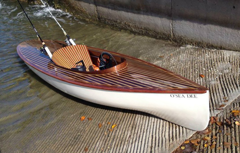 A Diminutive Fantail Launch - Small Boats Monthly