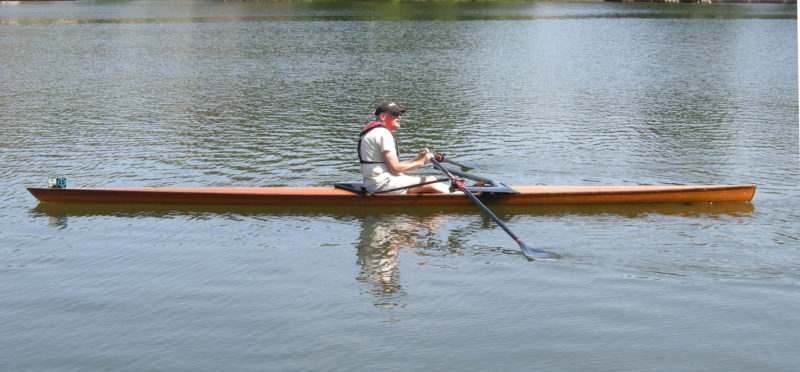 A Dragonfly Rowing Shell - Small Boats Monthly