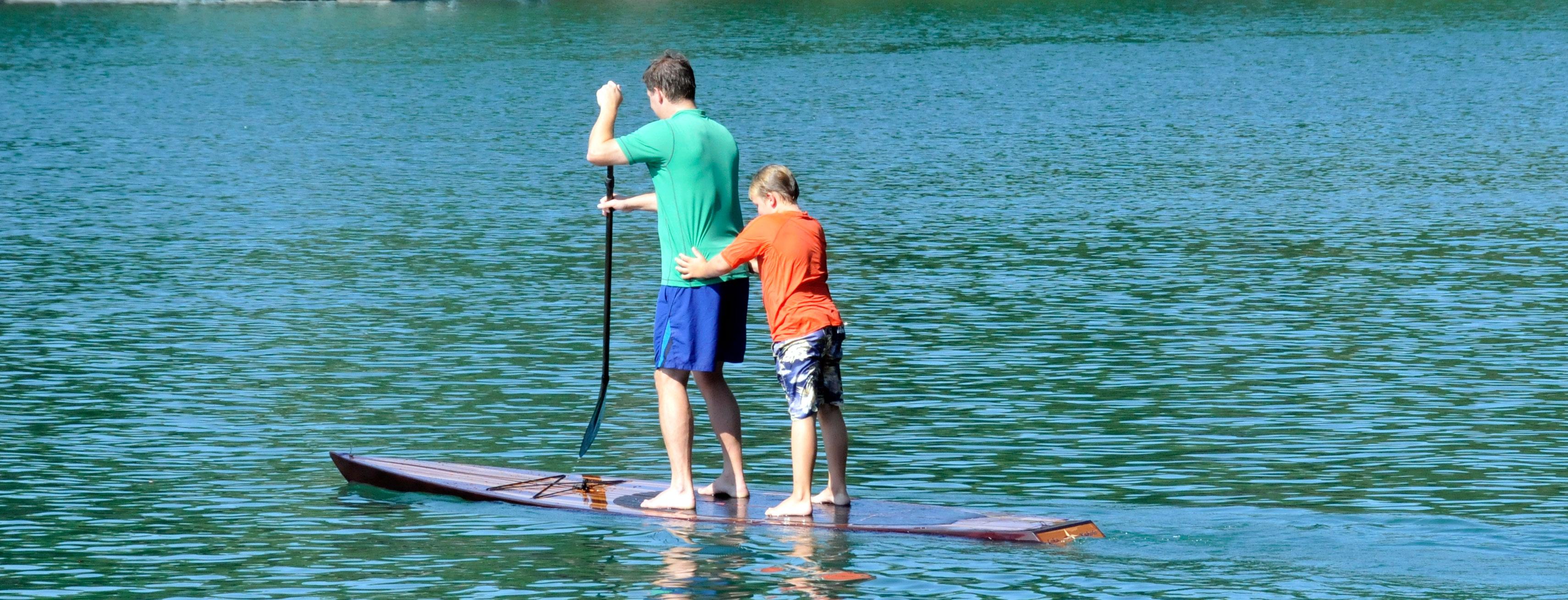 Deppen custom wood canoe paddles - Deppen Custom Wood Canoe Paddles 57