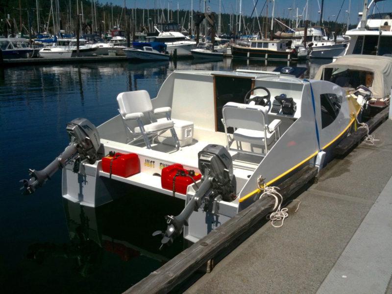 Eco 5 Power Cat - Small Boats Magazine