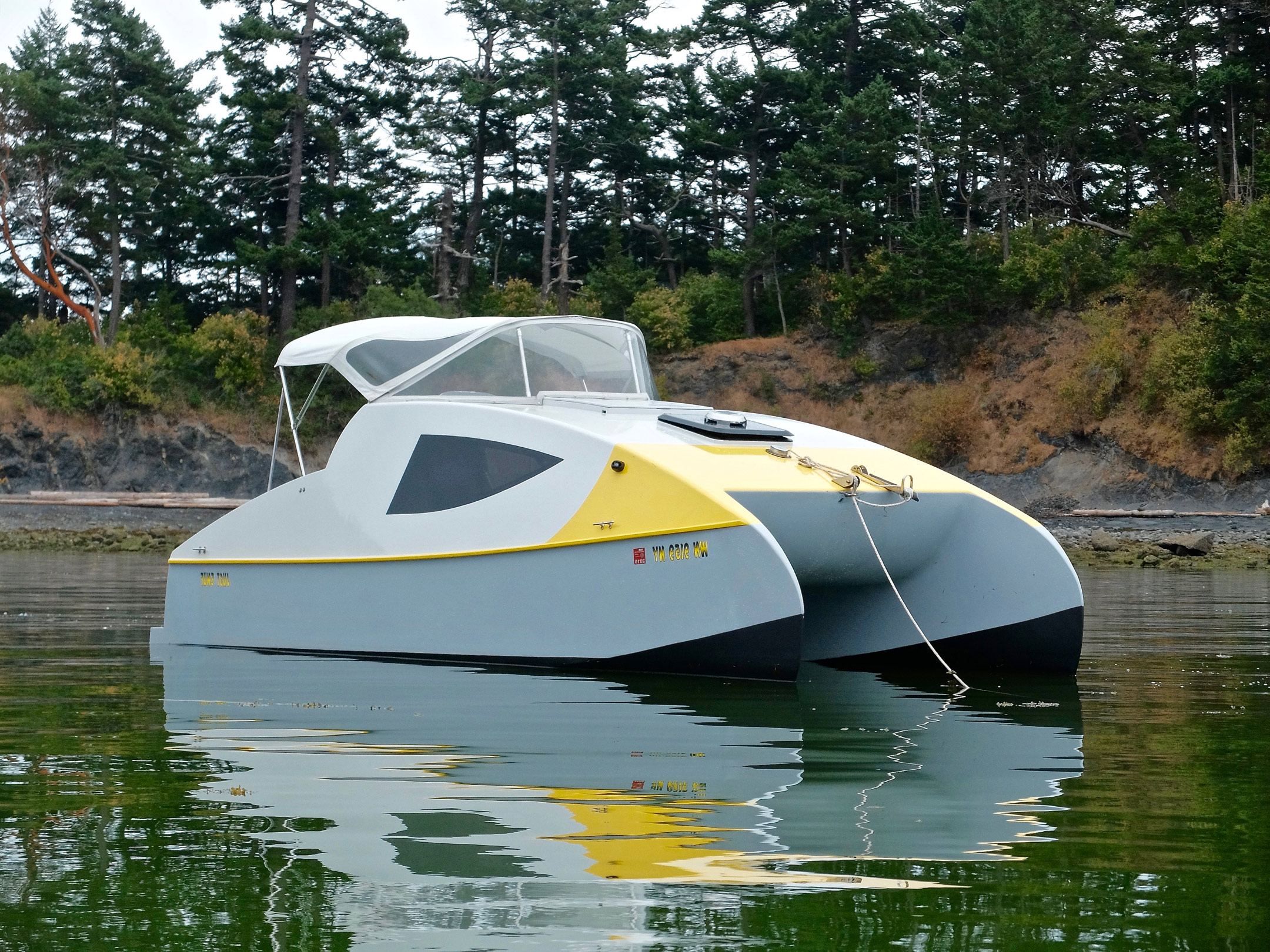 Eco 5 Power Cat Small Boats Monthly