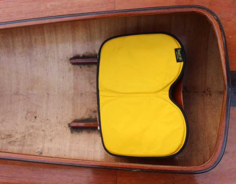 The Kayak Pad adds warmth and comfort and minimizes friction.