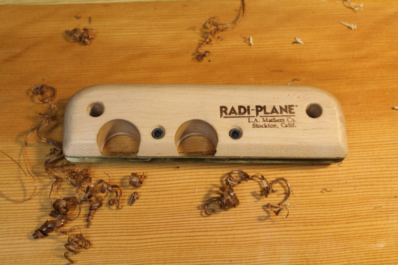 The Radi-Plane is limited to a single radius and working straight edges.