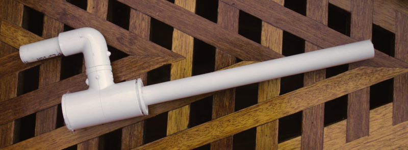 While the funnel my have the look of a horn, a straight pipe has a sharper more distinct sound.