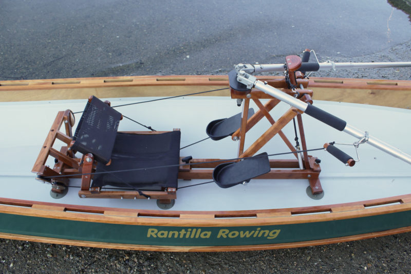 Despite all of the moving parts in the FrontRower, the action is quite smooth and without any ticks, clicks, or apparent friction. The only sound it makes is the hum of the braided lines running through pulleys.