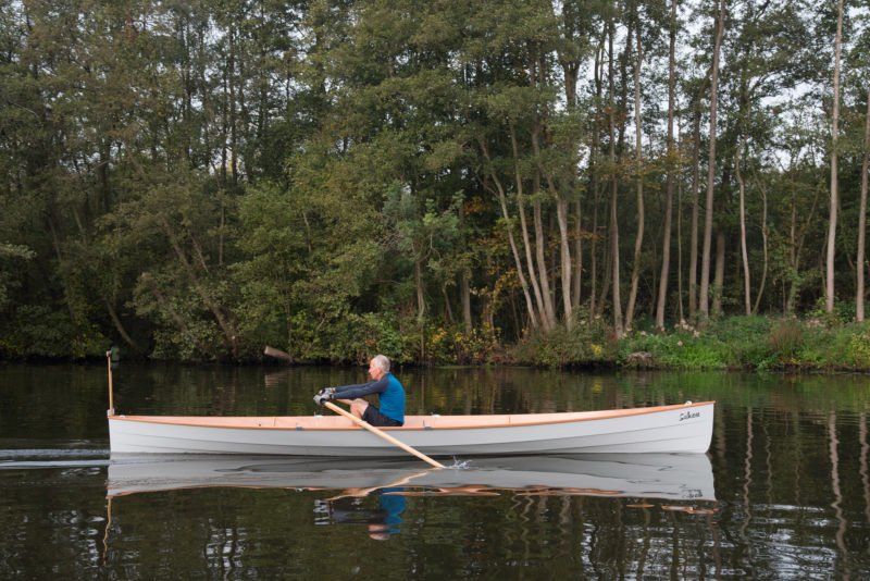 SULKAVA does well just as well as a single as a double. Tim and his wife do their rowing in Norfolk Broads, a network of rivers and lakes on the easternmost coast of England.