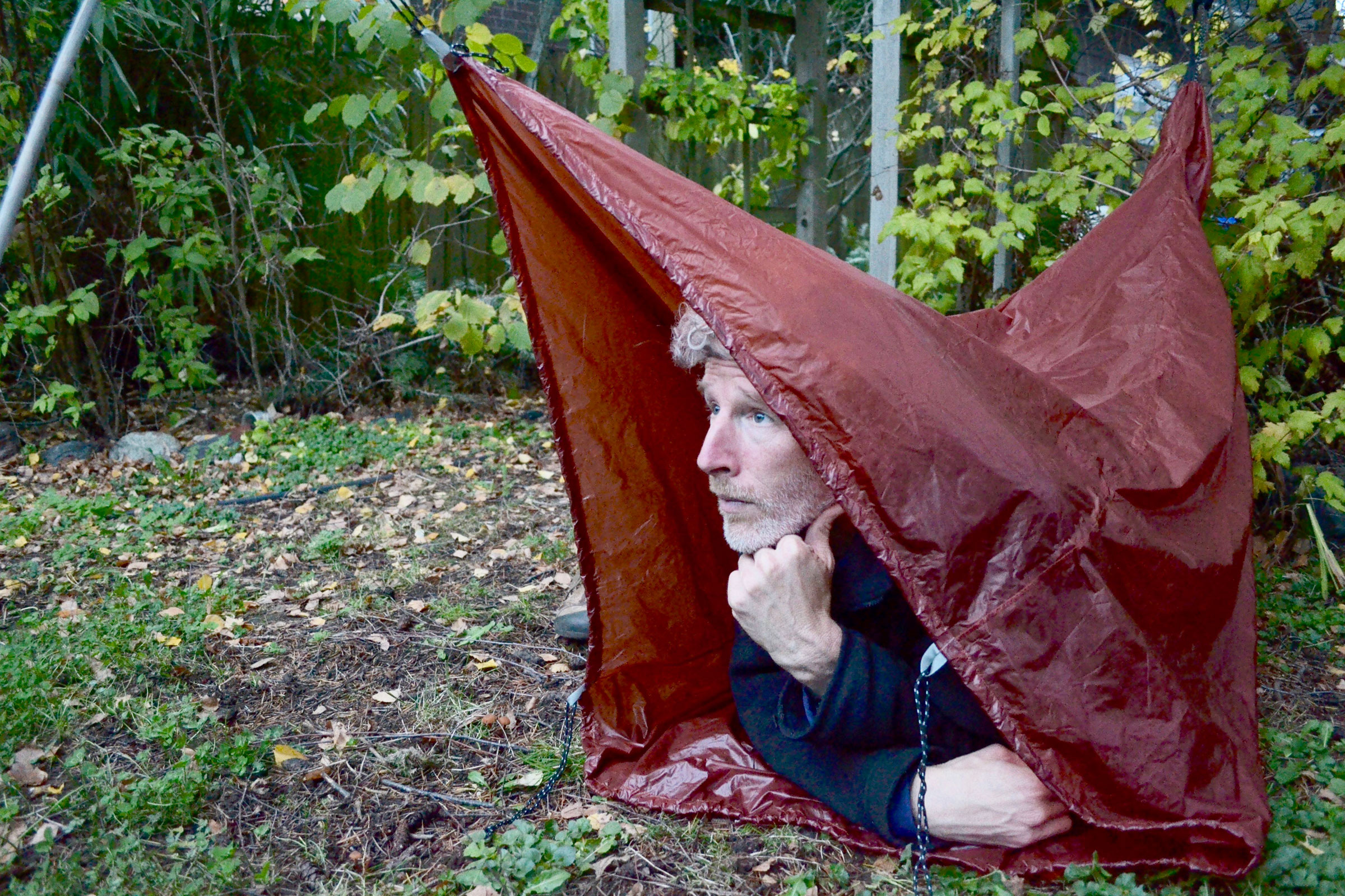 As the name suggests, the Bivibag Duo can be used for a bivouac, in tent fashion for one, a double sleeping bag for two.