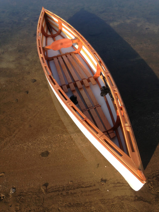 Lashings, the principle fastening in the canoe, allow the frame to flex, avoiding the damage a sharp impact could do to joints secured by nails, screws, or glue.