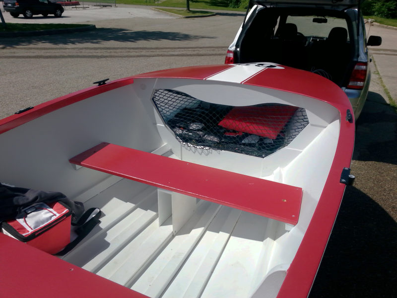 With a hull weight of just 140 lbs, the Utilty is an easy load to trailer behind a compact car.
