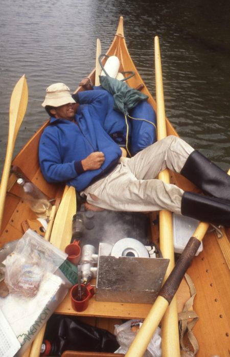 During a midday break at Allison Harbor, I relaxed while lunch warmed up. We had a short day prior to rounding Cape Caution, so we had time to dawdle.