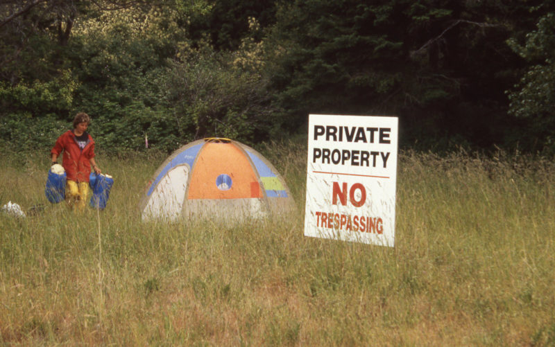 We needWe needed a place to stay in Nanaimo while I got a toothache taken care of. The couple who owned the property we camped on were much more welcoming than their sign would suggest. The patchwork tent was one I salvaged from the manufacturer's dumpster.ed a place to stay in Nanaimo while I got a toothache taken care of. The couple who owned the property we camped on were much more welcoming than their sign would suggest.