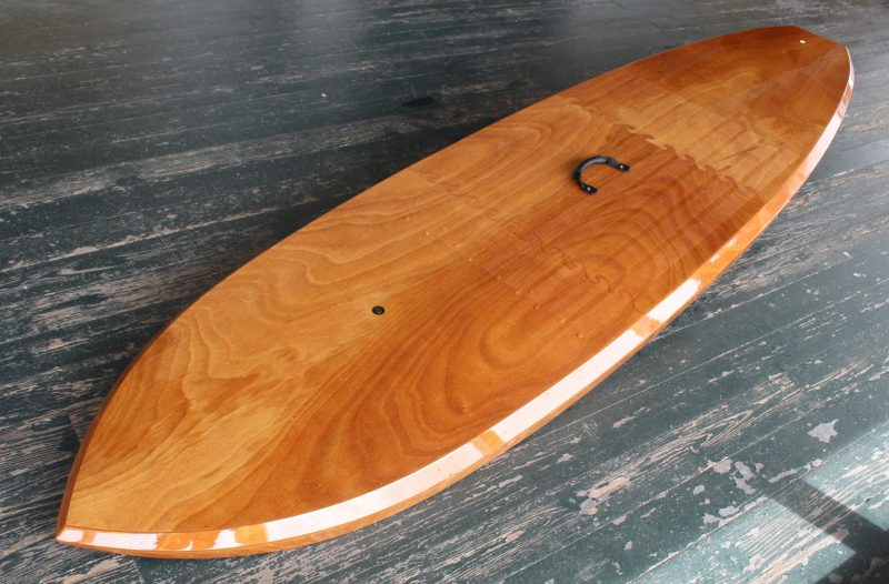 The bevelled side, a carry-over from Pygmy's kayaks, gives the All-Rounder a distinctive look.