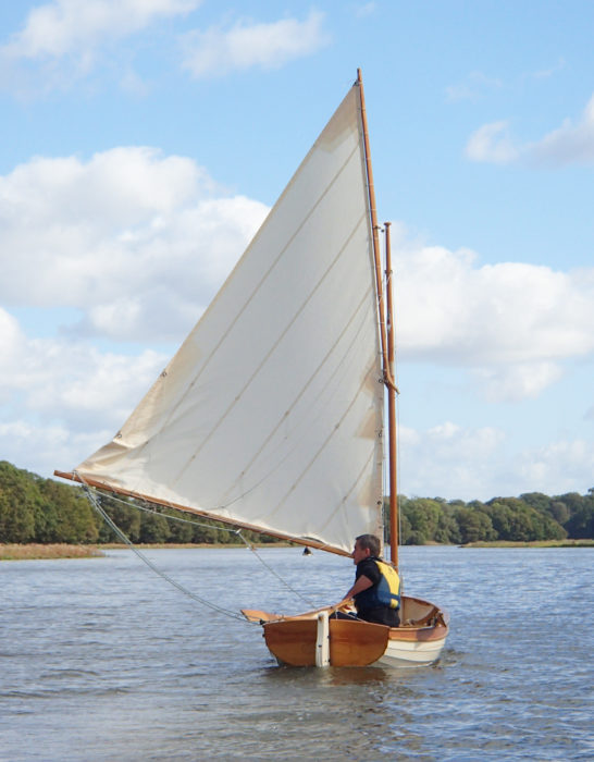Designer Wolstenholme describes the Coot as a Swallows and Amazons-style rowing and sailing dinghy. It should have a broad appeal beyond the fans of Arthur Ransome's books.