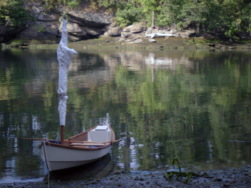 IRONBLOOD is quite at home in the San Juan Islands, both in the quiet coves and the passes that funnel tides and winds.