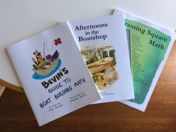 Three New Books for Boatbuilding Teachers