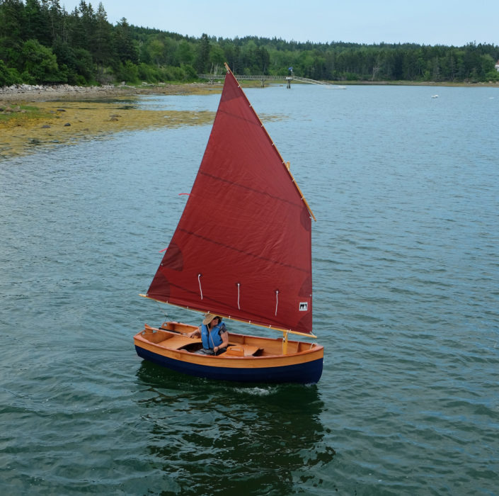 Floorboards come in handy as dry, comfortable seating when sailing in light air when weight isn't needed shifted windward to counter the boat's heeling.