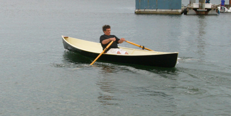 Pushed hard, the Raceboat maintains its trim well and makes little fuss passing through the water.
