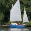 The Tread Lightly's mizzen was the feature that drew Steve to the design.