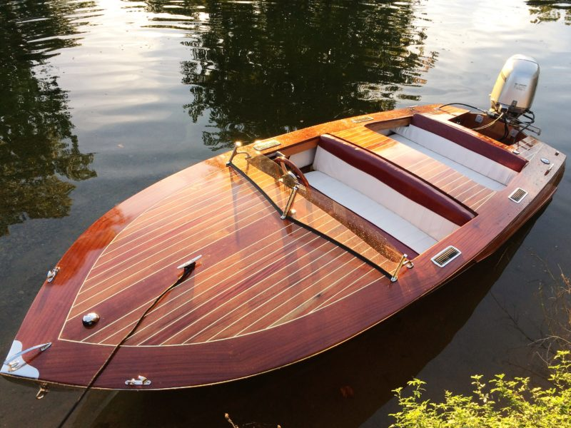 The plans for the Zip call for a plywood deck, but builders of Glen-L runabouts often lay deck planking over the plywood for a more classic and elegant look.