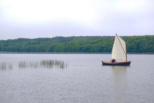 """""""...and accelerates so fast when under sail."""""""