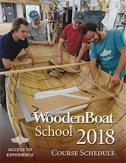 WoodenBoat School 2018 Courses