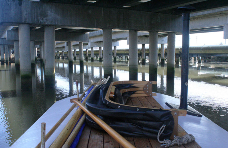 Edit Article ‹The maze of pilings under Highway 2 made for an interesting slalom, but eventually led to a dead end. Small Boats Monthly — WordPress