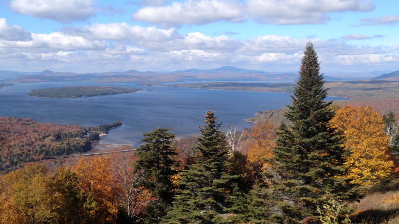 Lake Mooselookmeguntic rests in a bucolic Maine countryside but can get quite rough quite suddenly.
