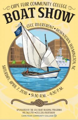 CFCC Riverfront Boat Show Poster
