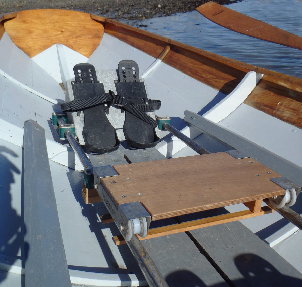 The seats are supplied without pads. Those are left to the rower to select to suit individual preferences.