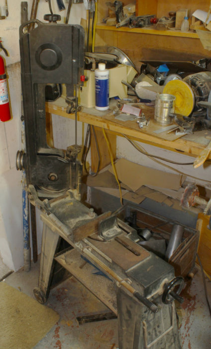 My metal-cutting bandsaw isn't much to look at and has a cheap, wobbly base, but it has a lot more patience than I do.