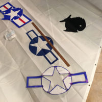 The authors restore old Sunfish, and Kent is a pilot, so a combination insignia is in the works.