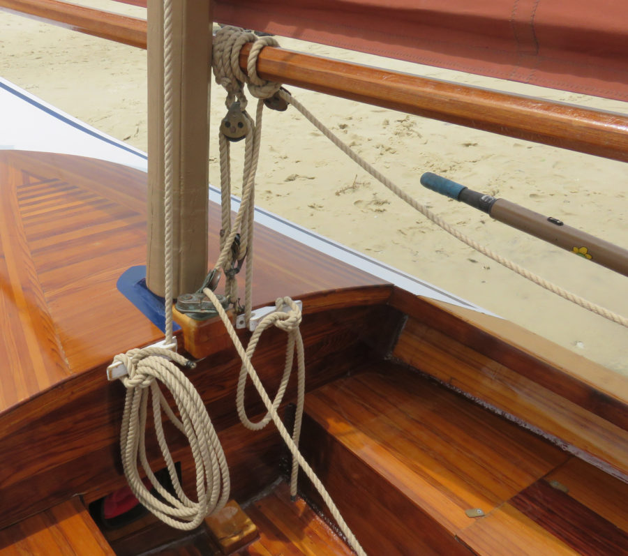 The P.O.S.H. line splices well, coils neatly, and looks right on a wooden boat.