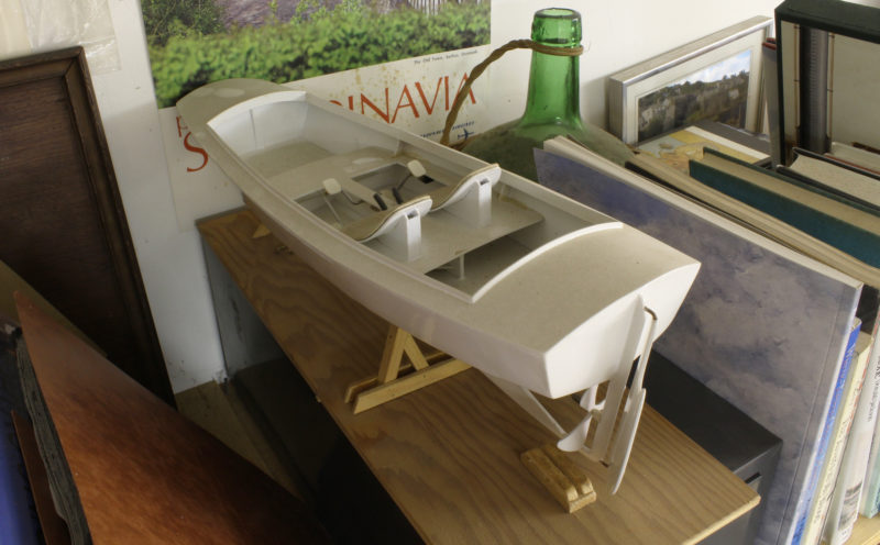This second model of the Aphasia was his most recent development and did away with the expensive Sea-Cycle drives and adopted the DIY system of the Sanpram. I found the remains of two months in the cockpit, the only passengers to ever get aboard the redesigned boat.