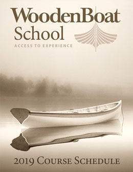 WoodenBoat School 2019 Courses