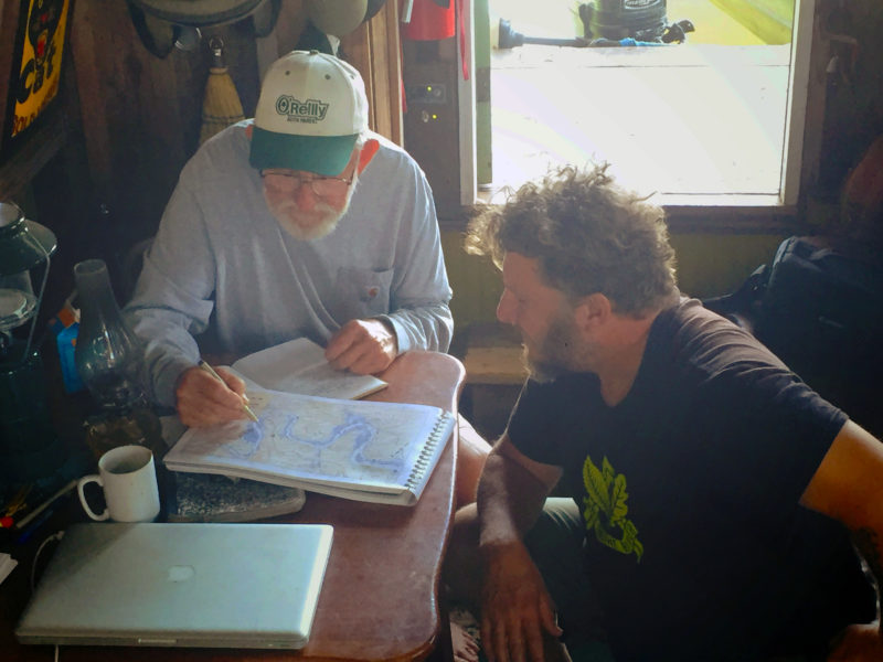 The visitors we welcomed aboard were often a wealth of local knowledge that we could add to our charts. We interviewed many of them to get their stories about life on the river.