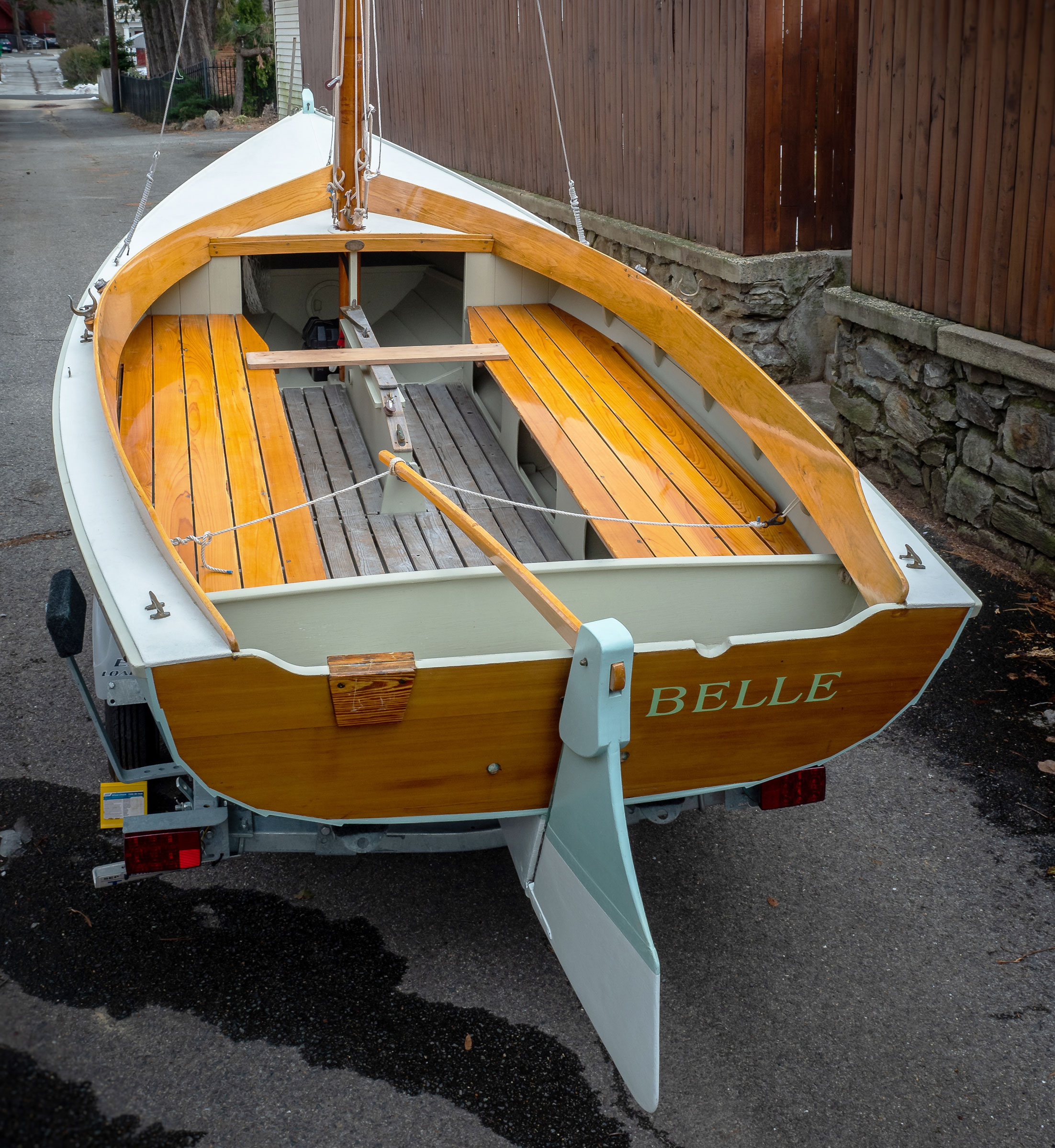 Belle Daysailer - Small Boats Magazine on