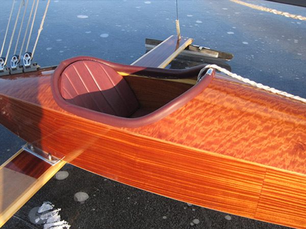 The Only Commercial Ice Boat Builder in Maine