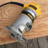 DeWalt's DWP6111 weighs 4.6 pounds and has a 1-1/4 hp motor.
