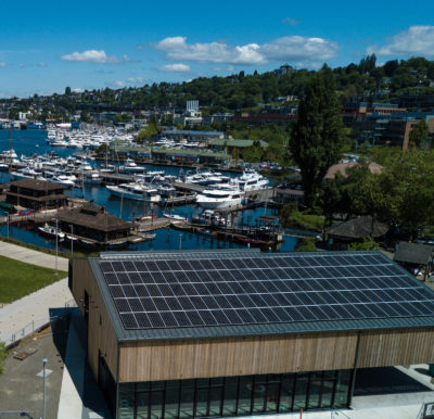Solar panels at CWB make a ride on NORA carbon neutral