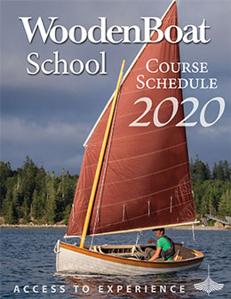 WoodenBoat School catalog cover