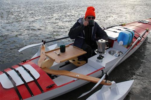Row Cruiser galley
