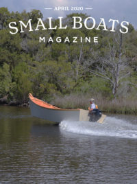 Small Boats Magazine April 2020 Cover